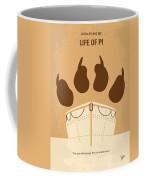 No173 My Life Of Pi Minimal Movie Poster Coffee Mug
