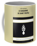 No186 My Le Gendarme De Saint-tropez Minimal Movie Poster Coffee Mug