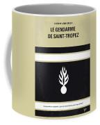 No186 My Le Gendarme De Saint-tropez Minimal Movie Poster Coffee Mug