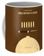 No318 My Rebel Without A Cause Minimal Movie Poster Coffee Mug
