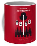 No463 My The Untouchables Minimal Movie Poster Coffee Mug