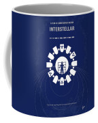 No532 My Interstellar Minimal Movie Poster Coffee Mug by Chungkong Art