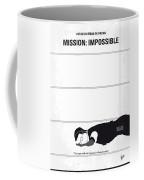 No583 My Mission Impossible Minimal Movie Poster Coffee Mug
