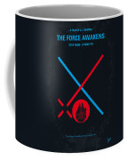 No591 My Star Wars Episode Vii The Force Awakens Minimal Movie Poster Coffee Mug
