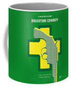 No628 My Drugstore Cowboy Minimal Movie Poster Coffee Mug