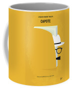 No671 My Capote Minimal Movie Poster Coffee Mug