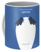 No744 My Happy Feet Minimal Movie Poster Coffee Mug