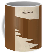 No810 My San Andreas Minimal Movie Poster Coffee Mug