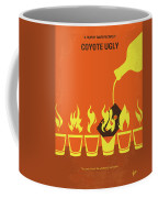 No909 My Coyote Ugly Minimal Movie Poster Coffee Mug