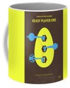 No929 My Ready Player One Minimal Movie Poster Coffee Mug