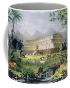 Noahs Ark Coffee Mug by Currier and Ives