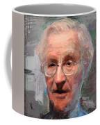 Noam Chomsky Portrait 1059 Coffee Mug