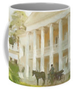 Noble Mansion Of The 19th Century In Russia Coffee Mug