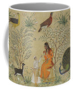 Noble Woman In A Garden Coffee Mug