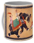 Nobleman Riding Elephant Coffee Mug