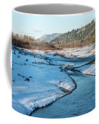 Nooksack River On A December Afternoon Coffee Mug