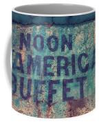 Noon American Buffet Coffee Mug