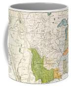 North American Indian Tribes, 1833 Coffee Mug