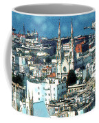 North Beach San Francisco - Watercolor Coffee Mug
