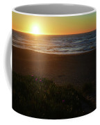 North Beach Sunset Coffee Mug