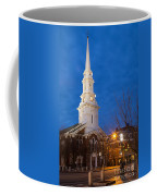 North Church At Twilight, Portsmouth, New Hampshire Coffee Mug
