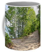 North Country Trail In Pictured Rocks National Lakeshore-michigan  Coffee Mug