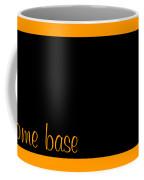 North Dakota Is Home Base Black Coffee Mug