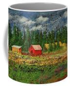 North Idaho Farm Coffee Mug
