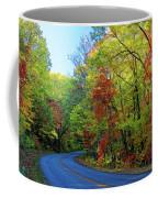 North Of The Folk Art Center In Fall Coffee Mug
