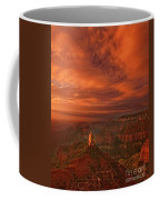 North Rim Storm Clouds Grand Canyon National Park Arizona Coffee Mug