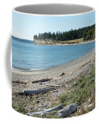 North Shore Of Penn Cove Coffee Mug