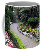 North Vancouver Garden Coffee Mug by Will Borden