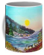 North With Yellow Sun Coffee Mug