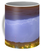 Northern Colorado Rocky Mountain Front Range Lightning Storm  Coffee Mug by James BO  Insogna
