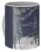 Northern Lights 2  Coffee Mug