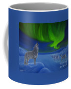 Northern Lights Night Coffee Mug