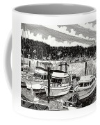 Gig Harbor Yacht Moorage Coffee Mug