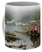 Norway, Fishing Village Coffee Mug