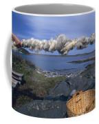 Norway Sheep Wool Getting Rolled Coffee Mug