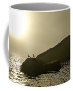 Norway, Tromso, Silhouette Of Pair Coffee Mug