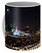 Norwegian Cruise Ship And Lunar Eclipse Coffee Mug