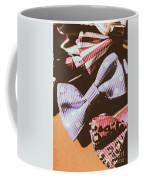 Nostalgia In The Fashion Isle Coffee Mug