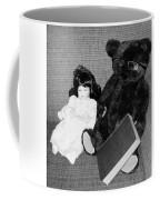 Nostalgic Doll And Bear With Reading Book Coffee Mug