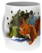 Not Much Goes On In The Mind Of A Squirrel Coffee Mug
