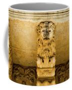 Noto, Italy - Detail Of Baroque Balcony, 1750 Coffee Mug