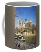 Notre Dame And The Seine Coffee Mug