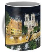 Notre Dame Coffee Mug by Bruce Schmalfuss