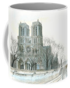 Notre Dame Cathedral In March Coffee Mug by Dominic White
