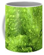 Nourish In Green Coffee Mug
