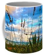 November Day At The Beach In Florida Coffee Mug
